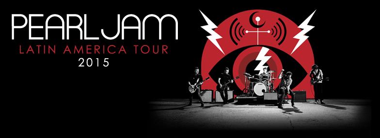 Pearl Jam America Latin Tour